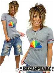 BUZZSPUNKY(バズスパンキー)Happy color Tシャツ/M
