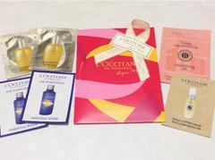 ロクシタン サンプル 限定封筒  化粧水 美容オイル ヘアオイル
