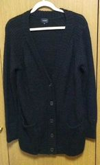ルッシェルブルーカーディガン 38サイズ 黒