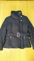 新品 ルスーク  ベルト付き 中綿コート ダウンジャケット 36