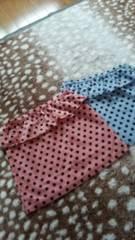 ●新品 DRWCYS スカート 赤ドット柄 記載サイズ1