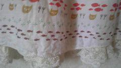 フランシュリッペ★猫&ドット&魚柄★フンワリ半袖ブラウス