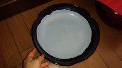 大皿 ブルー&水色 陶器