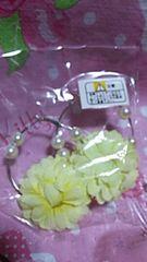お安く!新品可愛い黄色いお花のピアス  送料込み