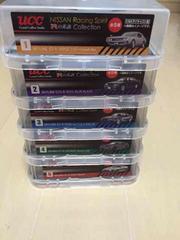 ucc★日産レーシングスピリッツ★Rの系譜コレクション 5台セット
