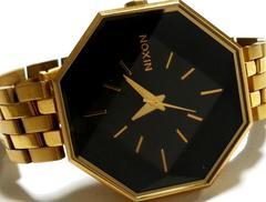 極レア★1スタ★NIXON ニクソン 豪華なGOLD ドレス腕時計★