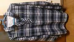 新品☆秋冬☆シルクのような手触り☆チェックシャツ