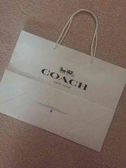 コーチ☆coachショップ袋☆紙袋☆大