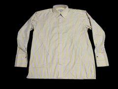スーパーセール新品HOODRICHフードリッチ★チェック柄長袖シャツ3XLイエロー大きいサイズ