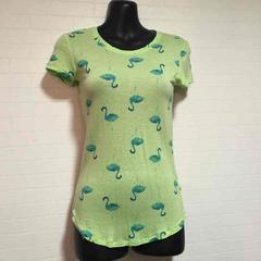 aerie フラミンゴ柄Tシャツ