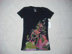 93 女 ZOO YORK ズーヨーク 黒 Tシャツ S