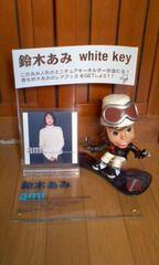 鈴木あみwhite key フィギュア付き店頭POP完品 小室哲哉プロデュース