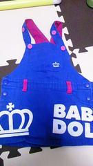 美品★BABY DOLL★王冠ジャンパースカート★100cm