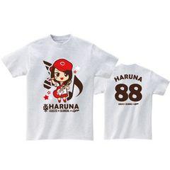 即決 HARUNA Tシャツ[M] SOUND MARINA 2013× SCANDAL ×CARP
