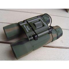 未使用 陸上自衛隊 迷彩レティクル(軍事用目盛)付双眼鏡10×25