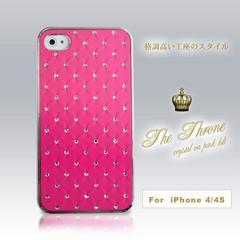 ★☆極上ラグジュアリー☆★ iphone4、4S対応カバークリスタルPK