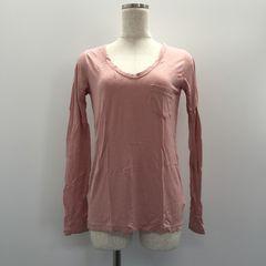 ファナオク MOUSSY マウジー カシミヤ混長袖カットソー