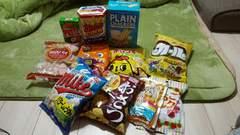 お菓子の詰め合わせ( ゚∀゚)