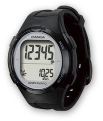 ウォッチ万歩計 DEMPA MANPO TM-500 ブラックS (腕時計型歩数計)