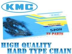 【高品質】バンバン200サベージ400GS400EGSX250Eハードチェーン520-110L