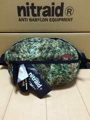 nitraid WAIST BAG(LARGE)(DOPE FOREST)(12S/S)