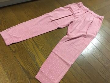 ユニクロ パンツ ピンクの画像