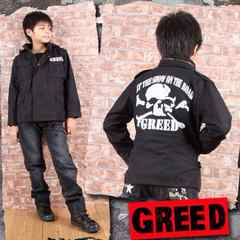 新品◆ミリタリージャケットジャンパー◆ドクロが激渋!140春秋