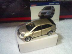 コナミ トヨタ ハリアー300G レクサスRX    シャンパンゴールド