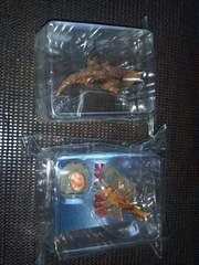 イワクラ・怪獣フィギュア彩色版・二種セット