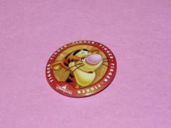 非売品 香港ディズニーランド ティガー 缶バッジ