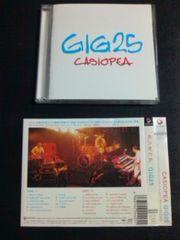 (2CD)CASIOPEA/カシオペア☆GIG25帯付き2枚組ライブアルバム廃盤!レア