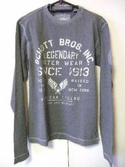 ★Schott NYC★ショット★ミリタリー★プリントTシャツ★ロンT★新品★