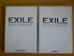 DVD 2本セット EXILE DOCUMENT TAKAHIRO + HIRO