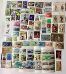 古い切手、色々、未使用、額面3,460円