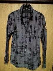 新品ROENロエン ストーンスカルチェックシャツ 48