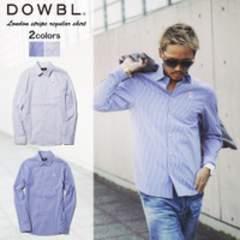 DOWBL/ダブル/ロンストレギュラーシャツ