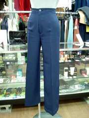 【SABUROKU】ネイビー色のパンツ(W60)