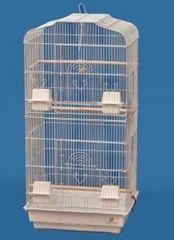 鳥かご◆セキセイインコ バードゲージ鳥小屋白□