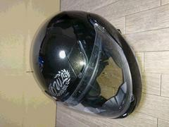 アウル 可変式フルフェイス サングラス付きヘルメット OWL XL 黒
