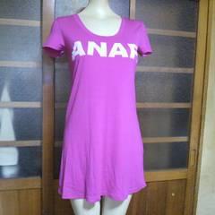 ANAP/アナップピンク ロング Tシャツ ワンピース