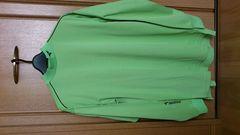 訳あり激安76%オフ福袋、ブリジストン、長袖シャツ(新品タグ、緑、M)