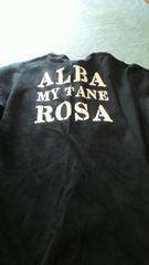 ALBA ROSA MY TANEアルバーローザ マイタネ4ロンT 黒ロゴ
