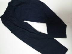 M〜Lサイドポケットナイロンパンツ黒