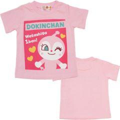*ANPANMAN*アンパンマン*ドキンchanパネルプリントTシャツ*80�a*新品*