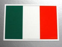 ■イタリア国旗ステッカー2枚set!シール ☆即買!