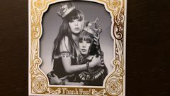 PUFFY「Thank You!」初回DVD付