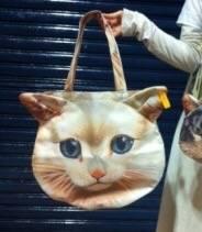 むちゃちゃ、あちゃちゅむ猫トートバッグ