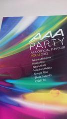 AAA Partyvol.13 2012 会報