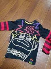パーティーパーティー partyparty 長袖Tシャツ 95