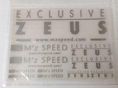 希少  M´S  SPEED   ZEUS  ステッカー 色々 新品